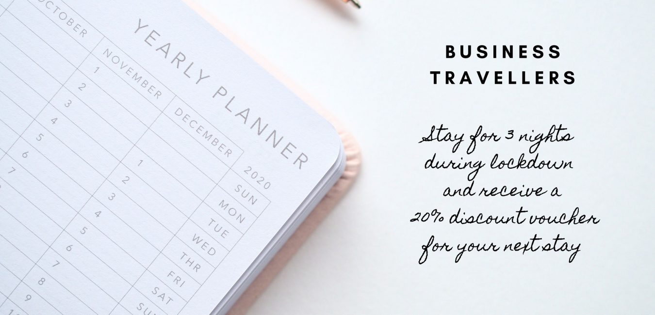 BUSINESS TRAVELLERS discount